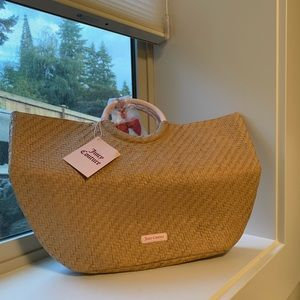 Juicy Couture Straw Bag